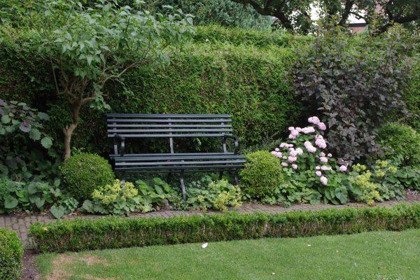 rustpunt in de tuin
