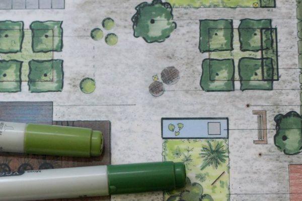 tuinontwerp, geheel naar uw wensen